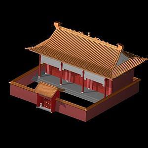 3d<font class='myIsRed'>古建筑</font>宮殿模型