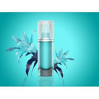 化妆用品3d模型