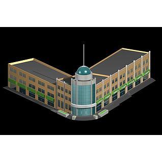 高档酒店3d模型3d模型