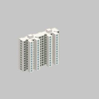 配楼3d模型