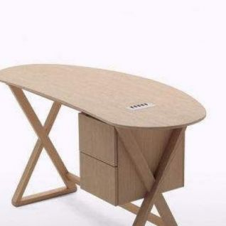 时尚办公电脑桌3d模型