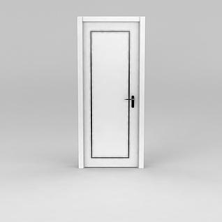 简约室内门3d模型