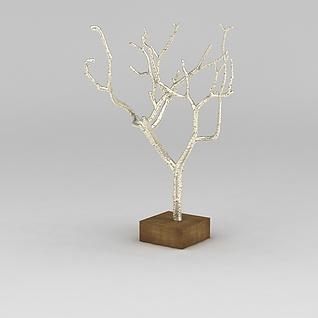 树装饰品3d模型
