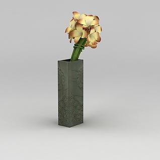 装饰花艺摆件3d模型
