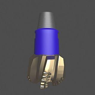 石油PDC钻头3d模型
