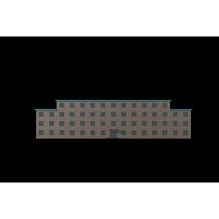 集体宿舍3d模型