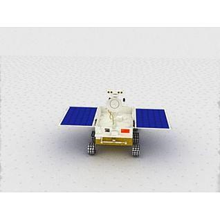 月球车3d模型