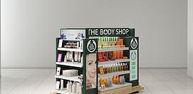 商场化妆品柜台模型