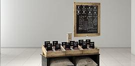 超市食品货柜模型