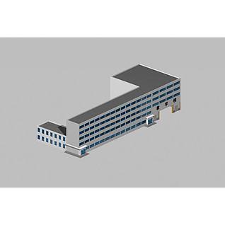 教学楼3d模型