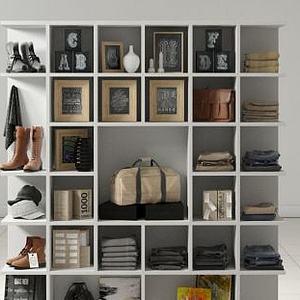 服装店展示货柜模型