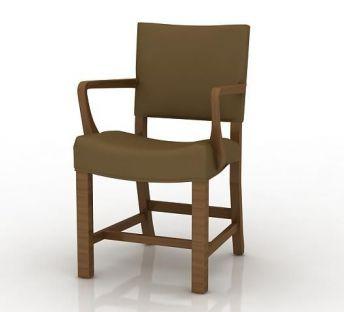 简约扶手木椅