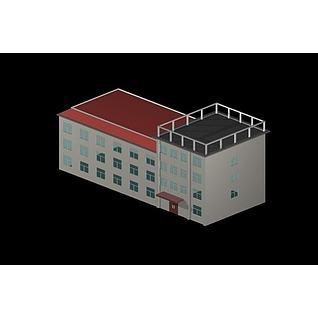 道班3d模型