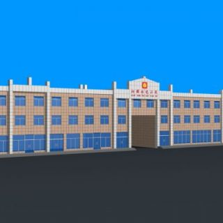 办公楼底商3d模型