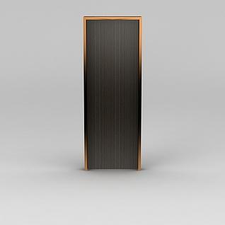 现代室内门3d模型