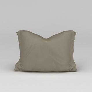 抱枕芯3d模型