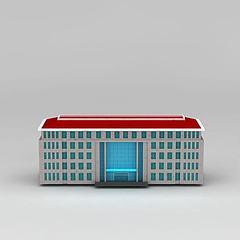 办公大楼模型3d模型