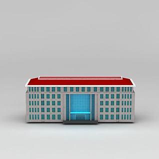 办公大楼3d模型