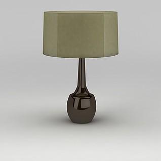 简约大气台灯3d模型
