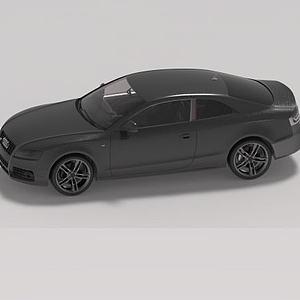 3d奧迪小<font class='myIsRed'>汽車</font>模型