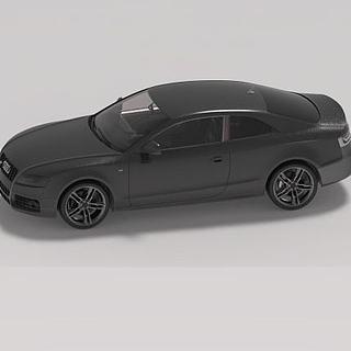 奥迪小<font class='myIsRed'>汽车</font>3d模型