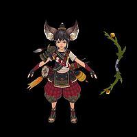 斗战神玉狐3d模型
