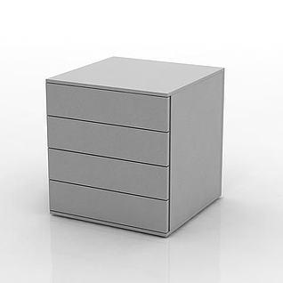 抽屉柜3d模型