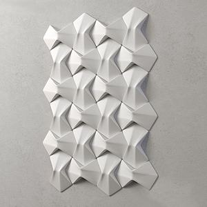 造型墙模型
