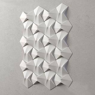 造型墙3d模型