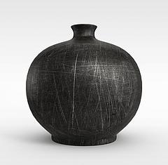 新中式花瓶摆件模型3d模型