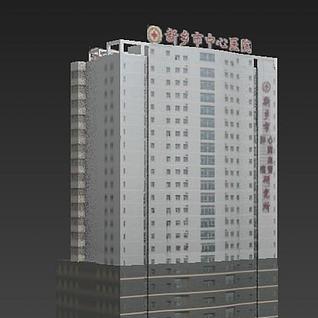 医院3d模型