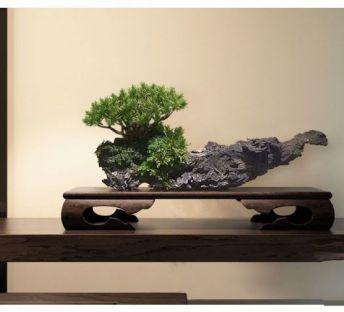 中式木雕摆件