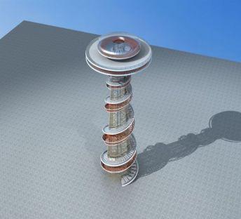 现代观光塔