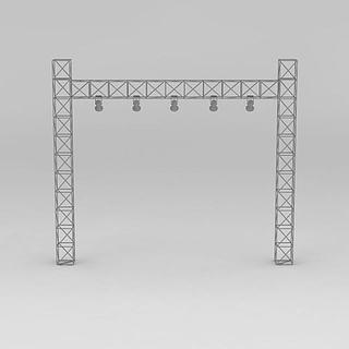 <font class='myIsRed'>舞台</font>灯光架3d模型