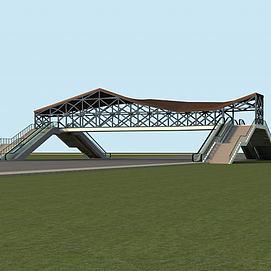 人行天桥模型