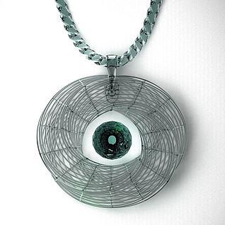 水晶项链首饰3d模型