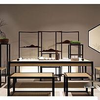 中式书桌椅高清图下载图片