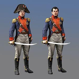 拿破仑3d模型
