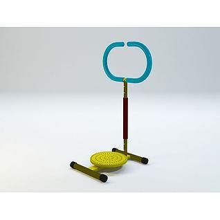 儿童扭腰器3d模型