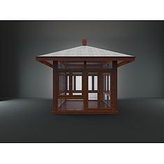 木亭子3D模型3d模型