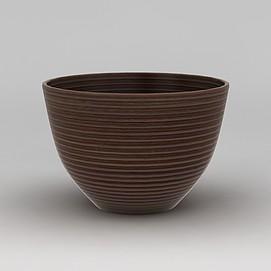 陶瓷<font class='myIsRed'>花盆</font>3d模型