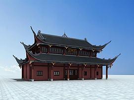 古代建筑3d模型