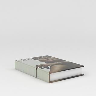 厚书刊3d模型3d模型