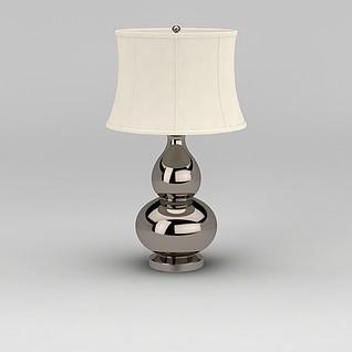 葫芦台灯3d模型