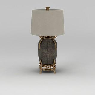个性台灯3d模型