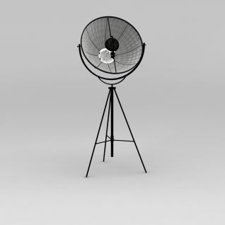 后现代落地灯3d模型
