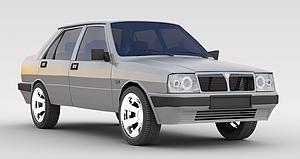 3d復古<font class='myIsRed'>汽車</font>模型