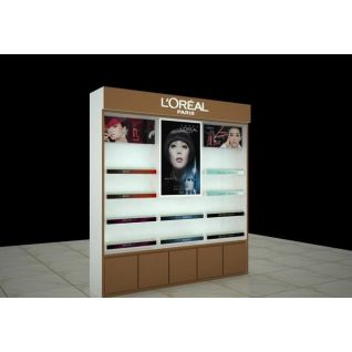 化妆品展柜3d模型