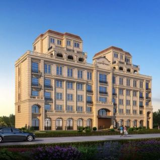 欧式别墅3d模型