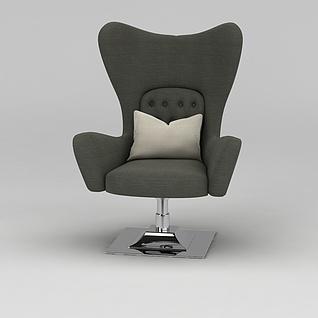 休闲转椅3d模型3d模型